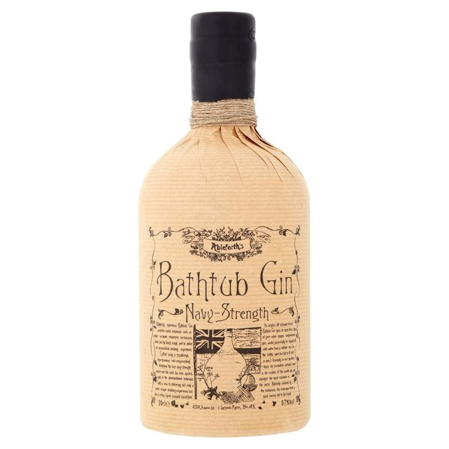 ableforth's bathtub gin navy-strength 70cl from ocado