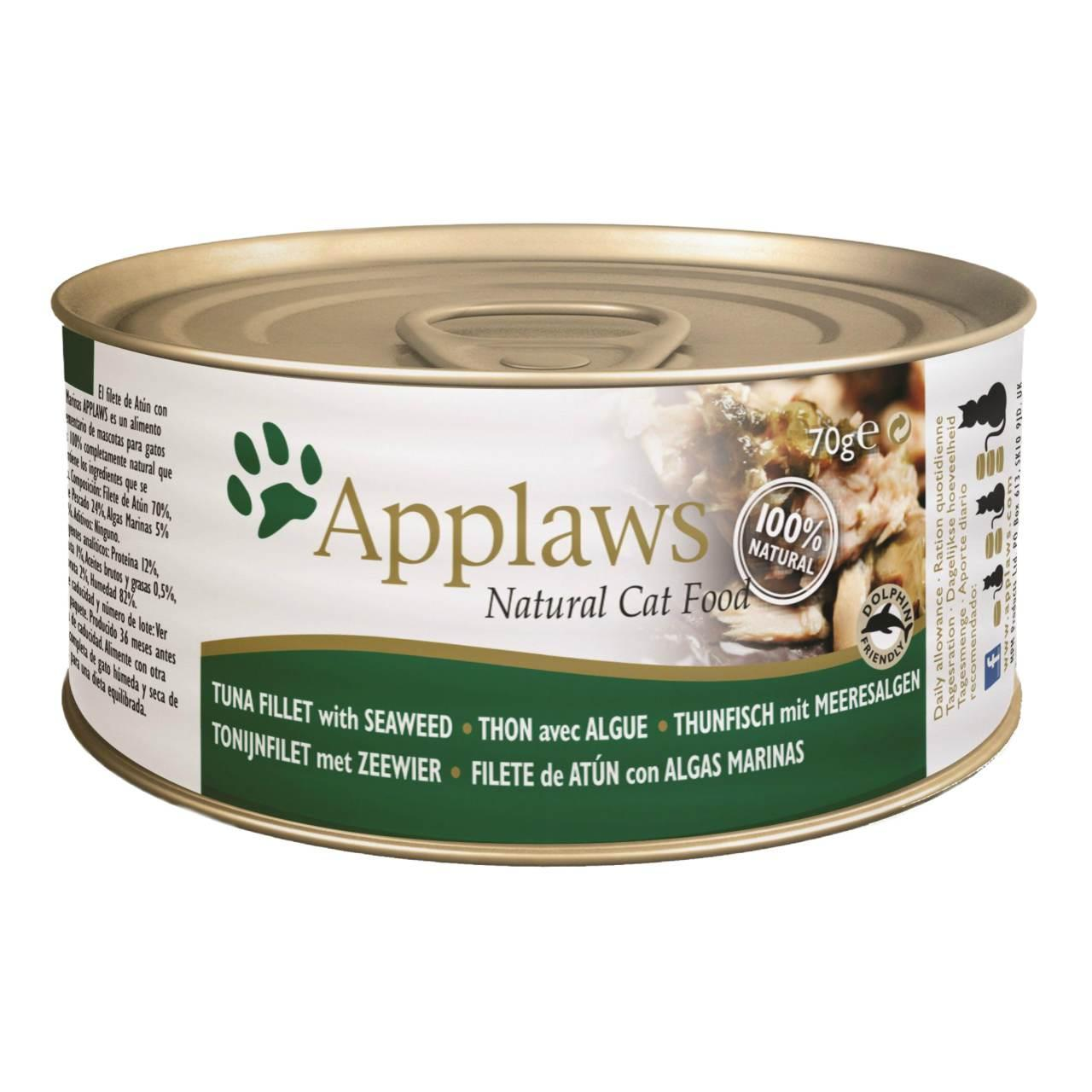 Applaws Cat Food Tuna Amp Seawee At Fetch Co Uk The Online