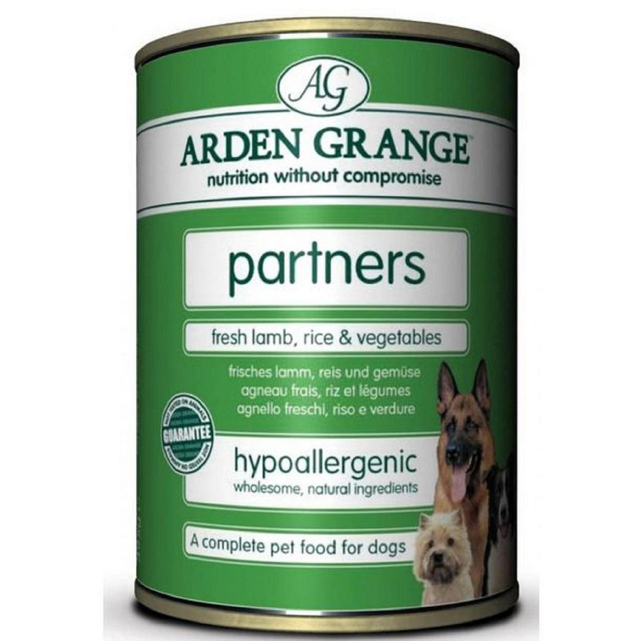 An image of Arden Grange Partners Lamb Rice & Vegetables Wet Dog Food