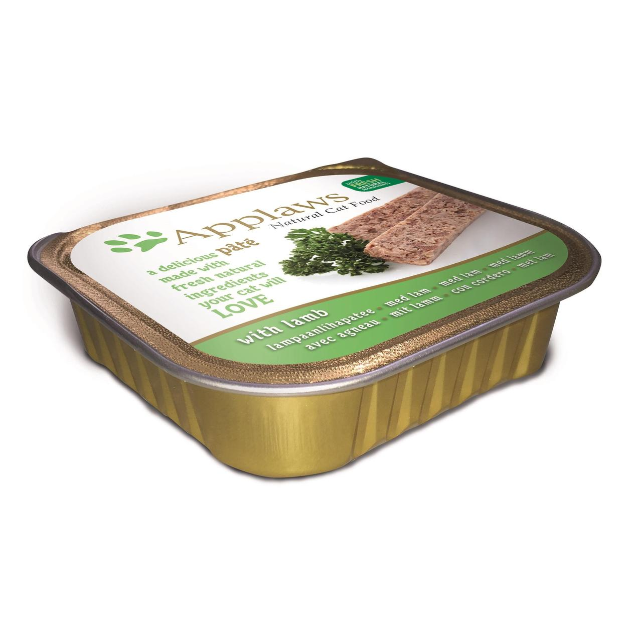 An image of Applaws Cat Pate With Lamb