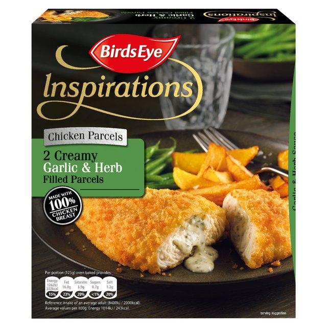 Birds Eye 2 Chicken With Garlic & Herb Sauce Frozen 240g ...