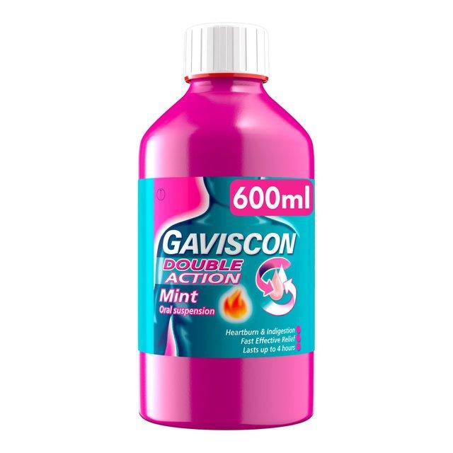 Ocado Gaviscon Double Action Liquid Relief Mint 600ml