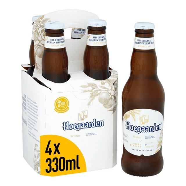 Hoegaarden Belgian Wheat Beer   Ocado
