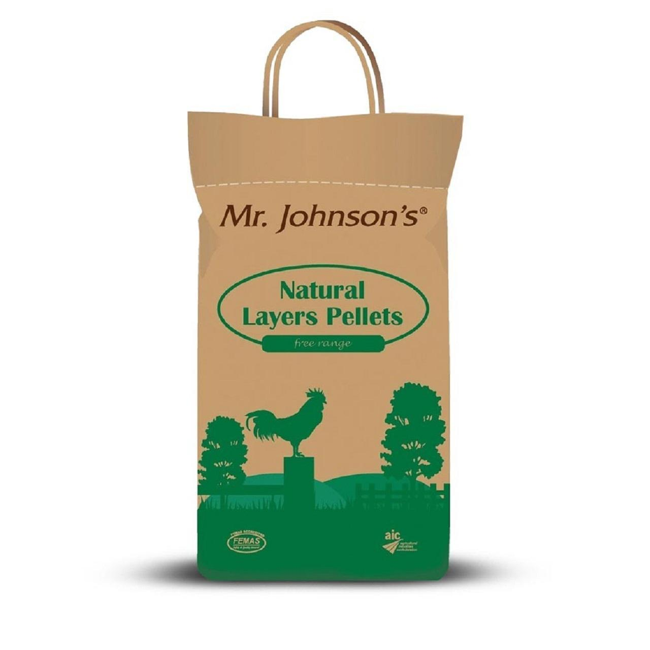 An image of Mr Johnsons Natural Layers Pellets