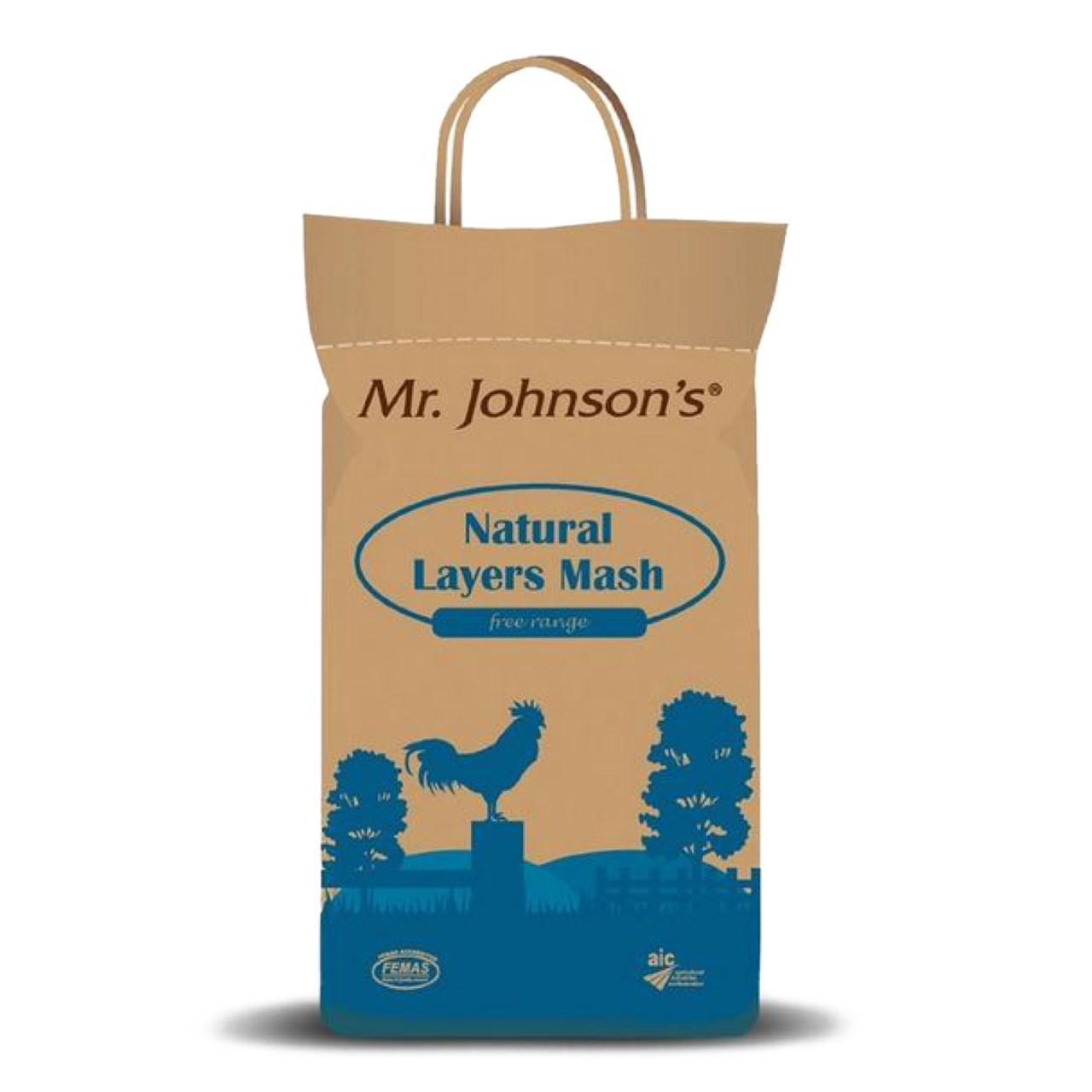 An image of Mr Johnsons Natural Layers Mash