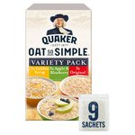 Quaker Oat So Simple Variety Pack Porridge