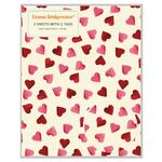 Emma Bridgewater Hearts Gift Wrap & Tag Pack