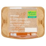 Waitrose British Blacktail Free Range Eggs Medium