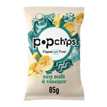 Popchips Sea Salt & Vinegar Popped Potato Crisps