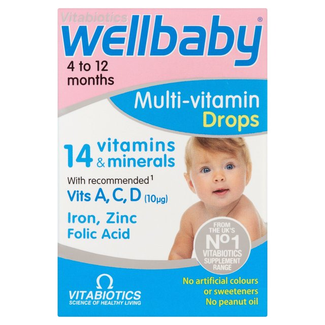 Vitabiotics Wellbaby Multivitamin Drops Ocado