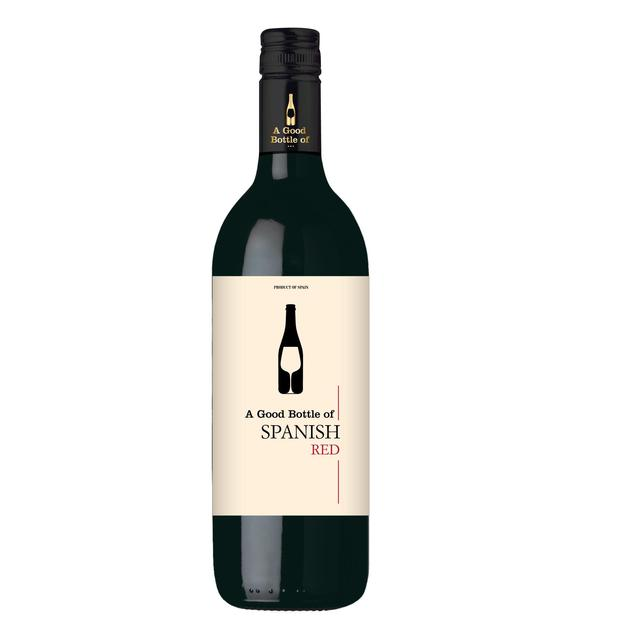 A Good Bottle Of Spanish Red Wine 75cl from Ocado640 x 640 jpeg 13kB