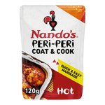 Nando's Coat 'n Cook Hot Peri Peri Marinade