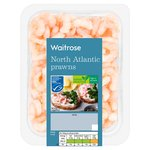 Waitrose North Atlantic Prawns