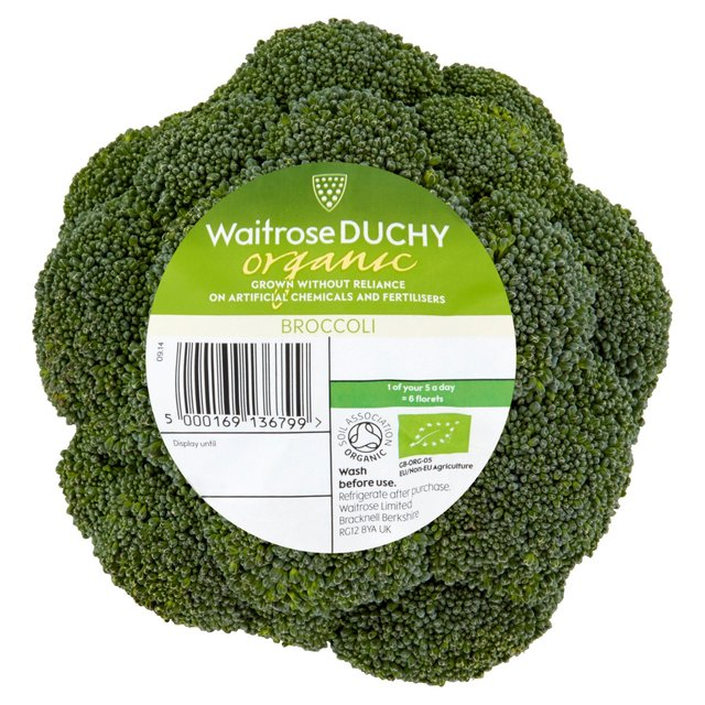 Organic Broccoli Waitrose