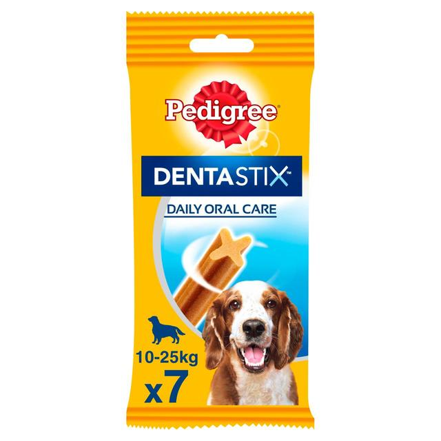 Pedigree Daily Dentastix Medium Dog Treat 7 X 25g From Ocado