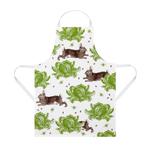 Thornback & Peel Cotton Rabbit & Cabbage Apron