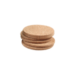T&G Woodware Cork Round Coasters