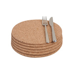 T&G Woodware Cork Round Placemats