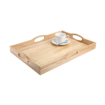 T&G Woodware Hevea Wood Tray
