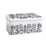 Iittala Taika Metal Cake Tin, Black & White