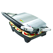 Breville Stainless Steel 3 Slice Panini Press