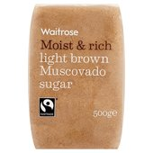 Light Brown Muscovado Sugar Waitrose