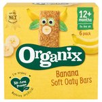 Organix Goodies Banana Oaty Bars