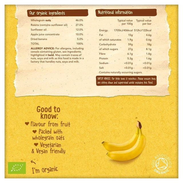 Organix Barre De C/ér/éales Goodies Banane 6 X 30G