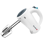 Breville Simplicity 5 Speed Hand Mixer, White