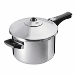 Duromatic Stainless Steel Inox Long Handle Pressure Cooker 5L