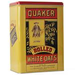 Quaker Oats Cereal Tin