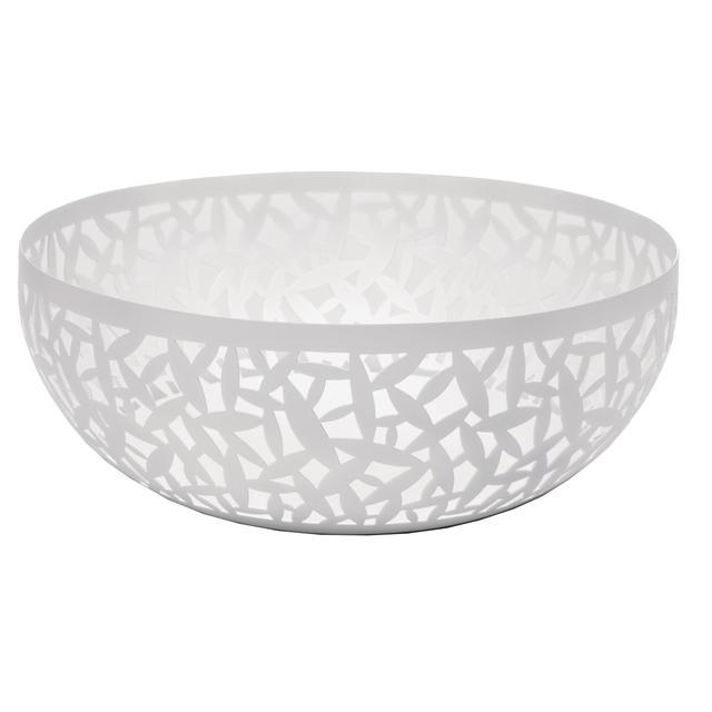 Alessi cactus fruit bowl 29cm white from ocado - Alessi fruit bowl ...