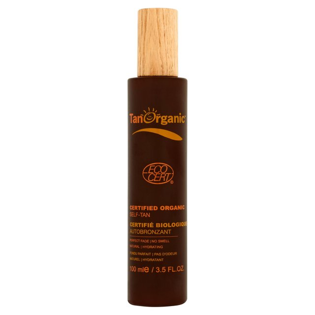 TanOrganic Certified Organic Self Tanning for Face & Body