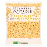 Essential Waitrose Frozen Supersweet Sweetcorn