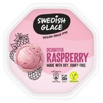 Swedish Glace Soy Delightful Raspberry Dairy Free Ice Cream