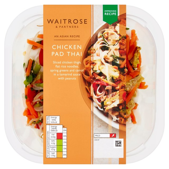Waitrose asian fusion chicken pad thai 400g from ocado waitrose asian fusion chicken pad thai forumfinder Gallery