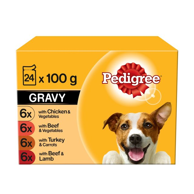 Gravy Wet Adult Dog Food Pouches