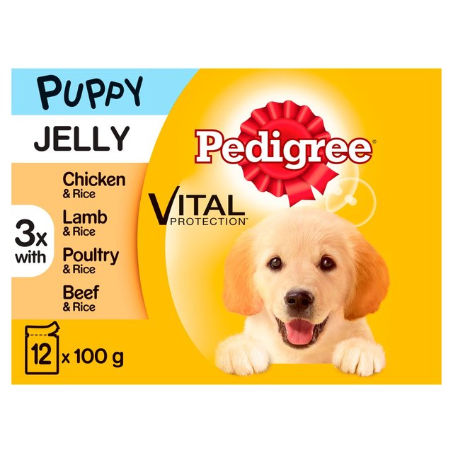 Jelly Puppy Wet Dog Food Pouches