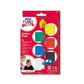 Staedtler Fimo Kids Colour Pack Basic, 8yrs+