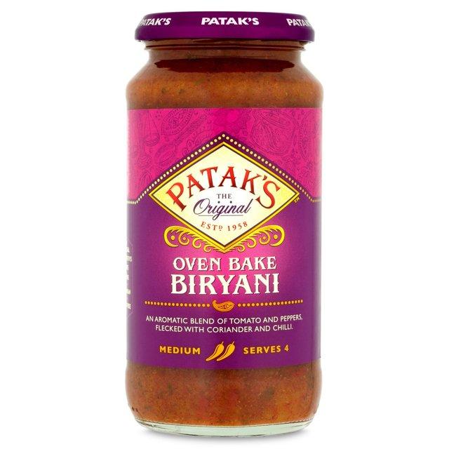 Pataks biryani cooking sauce 450g from ocado pataks biryani cooking sauce pataks biryani cooking sauce forumfinder Image collections