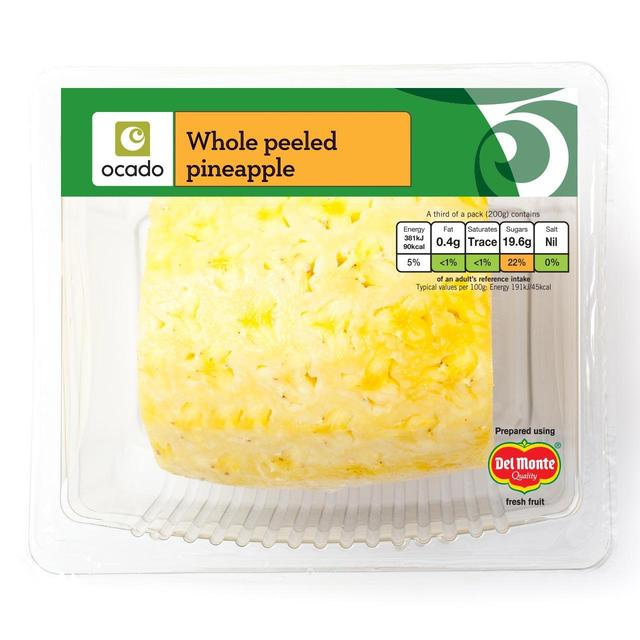 Ocado Whole Peeled Pineapple