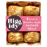 Higgidy Pork & Apple Snack Sausage Rolls