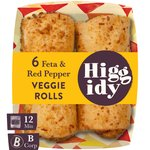 Higgidy Herby Feta & Red Pepper Snack Rolls