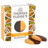 Fudge's Half Dipped Stem Ginger Blisscuits