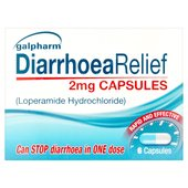 Galpharm Diarrhoea Relief 2mg Capsules