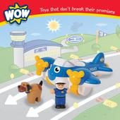 WOW Toys Police Plane Pete 18mnths+