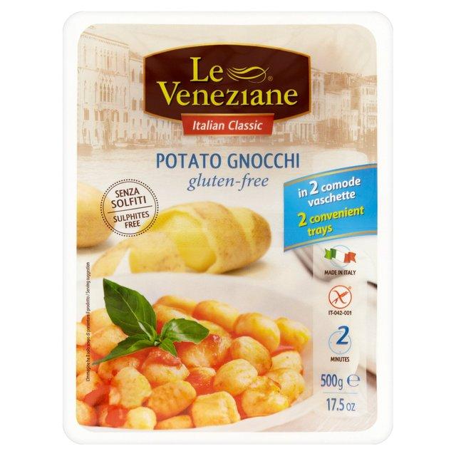 Le Veneziane Gluten Free Potato Gnocchi 2 x 250g from Ocado