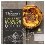 Jon Thorners Mature Somerset Cheddar & Onion Quiche Small