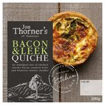 Jon Thorner's Smoked Bacon & Sauteed Leek Quiche Small