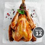 Waitrose Free Range Large Bronze Feathered Turkey